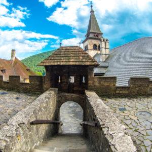 Στα κάστρα της Σλοβακίας II.Το κάστρο της Οράβα.
